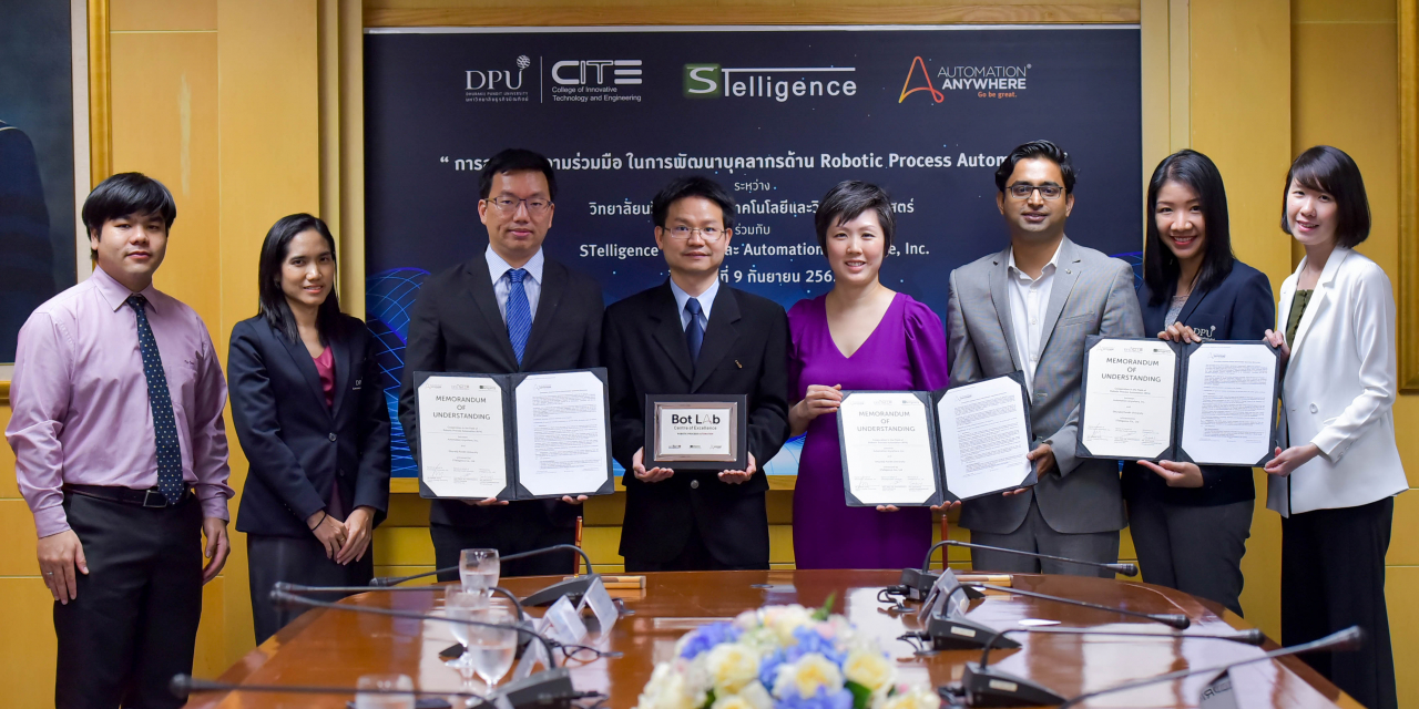 Automation Anywhere partners Dhurakij Pundit University and STelligence to nurture robotics talent in Thailand