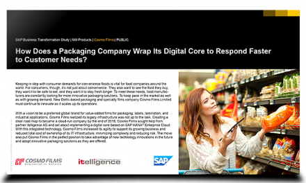How a packaging company responds faster to customer needs