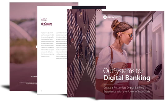 Low-code for digital banking