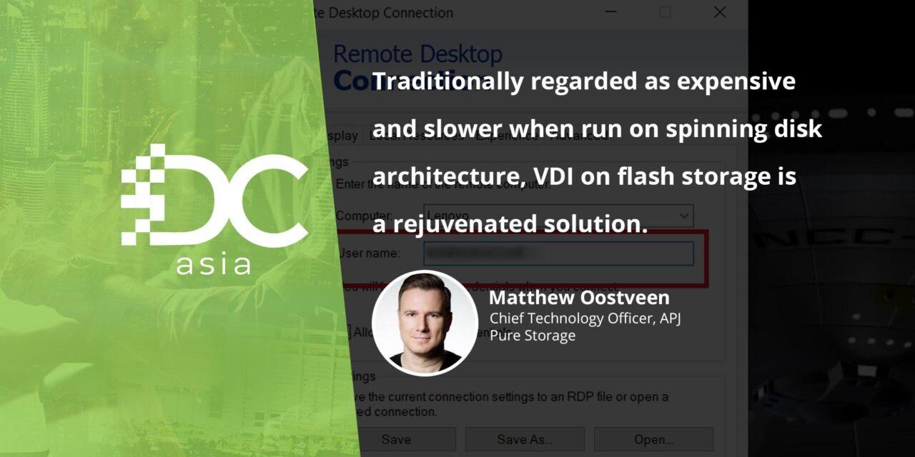 Eschewing remote desktop connections for virtualized desktops
