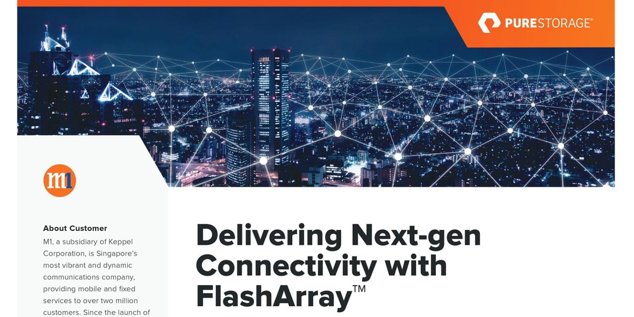 M1: Delivering connectivity with FlashArray