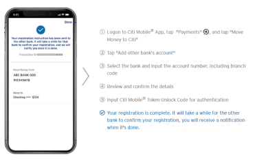 digital banking service app
