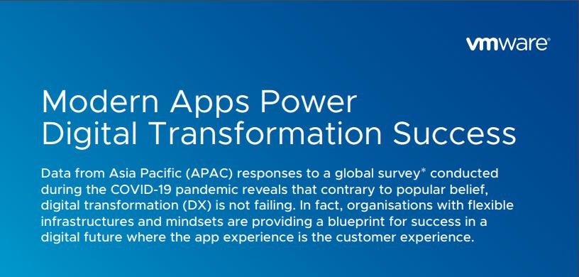 Modern apps power digital transformation success