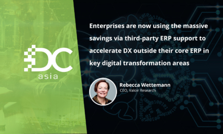 Does DX mean a mandatory ERP platform upgrade?