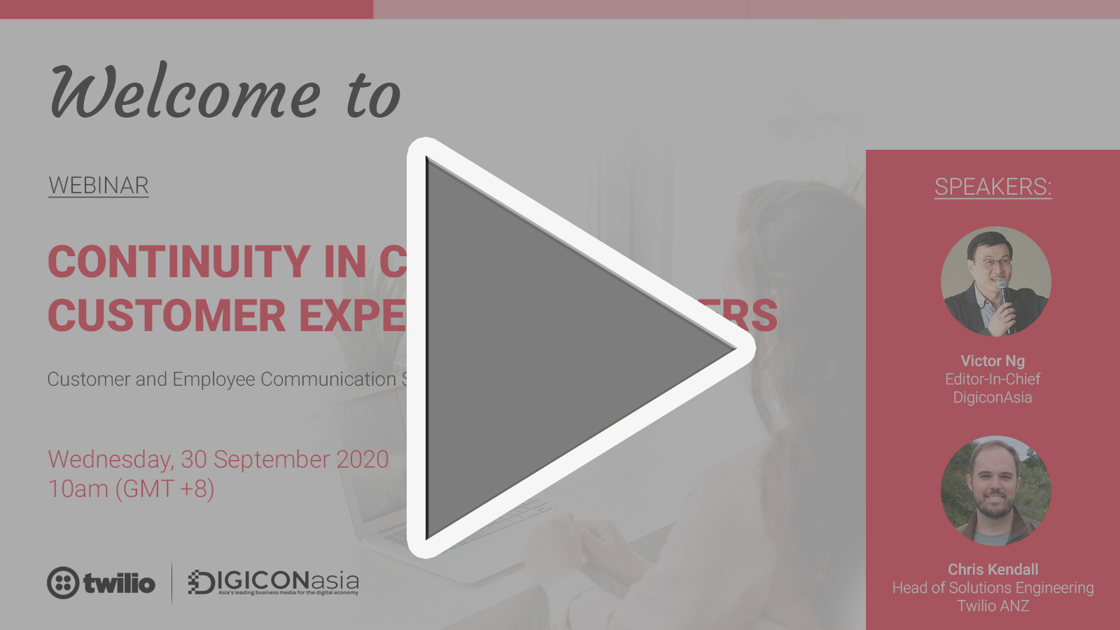 Webinar Continuity in crisis: customer engagement experience matters