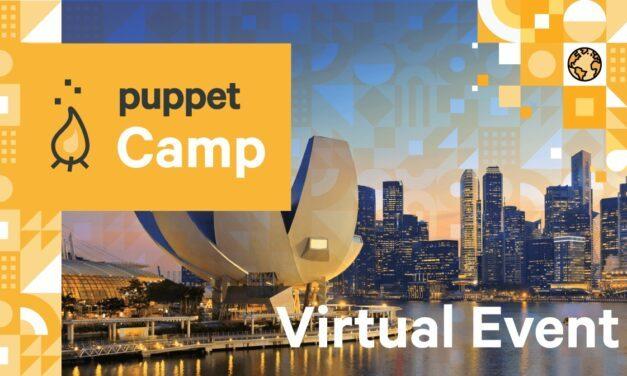 Virtual Puppet Camp Singapore
