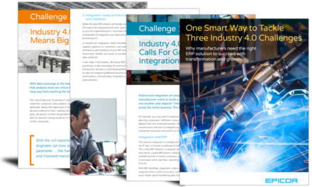 One smart way to tackle 3 Industry 4.0 challenges