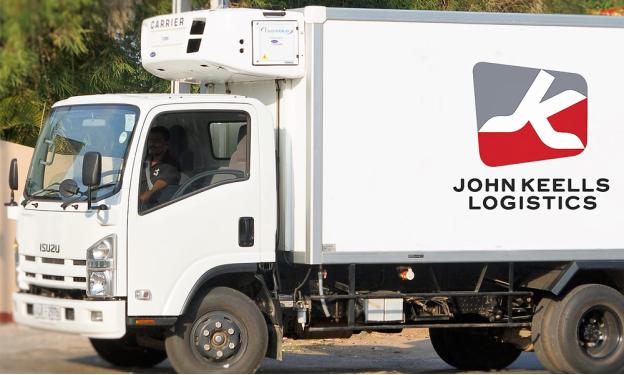 John Keells Logistics (JKLL)  white truck
