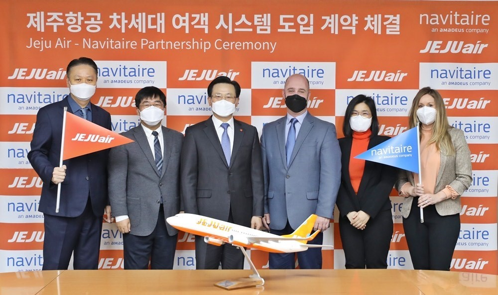 S. Korean low-cost carrier rises up the clouds with digitalization