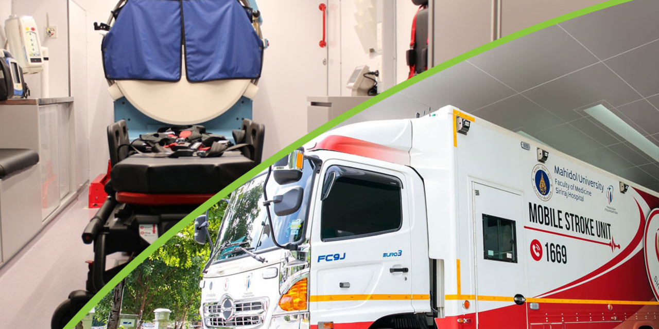 When a stroke occurs, ambulance telemedicine can boost your survival rate