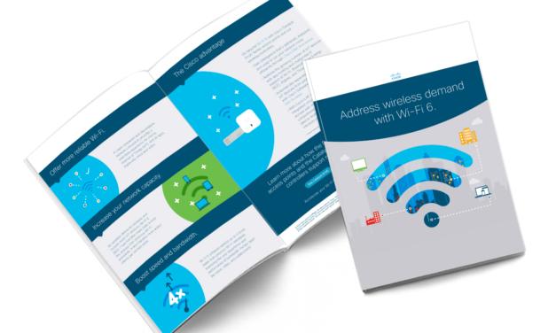 Address wireless demand with Wi-Fi 6