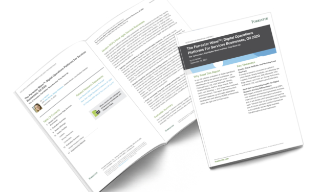 The Forrester Wave: Digital operations platforms for services businesses
