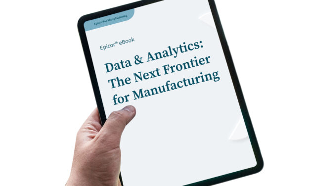 Data & analytics: the next frontier for manufacturing