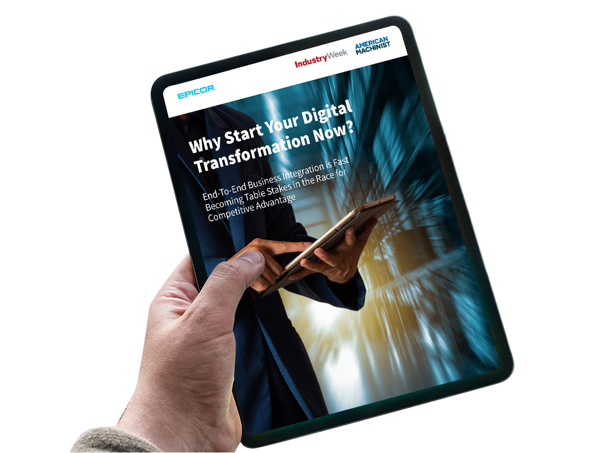 Whitepaper: Why start your digital transformation now?