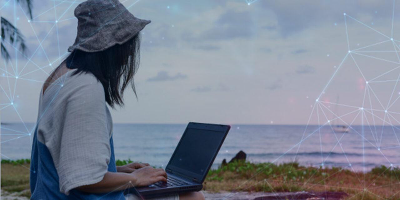 Resort island utilizes tourism lull to transform digitally