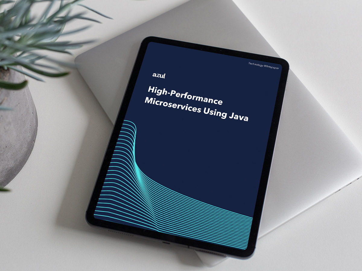High-performance microservices using Java