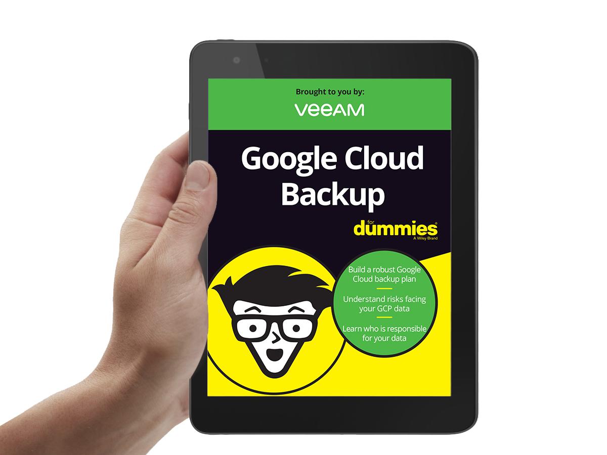Google Cloud Backup for dummies
